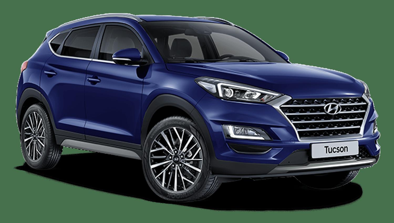 Stellar Blue New Hyundai Tucson