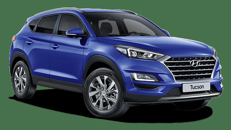 Champion Blue Hyundai Tucson