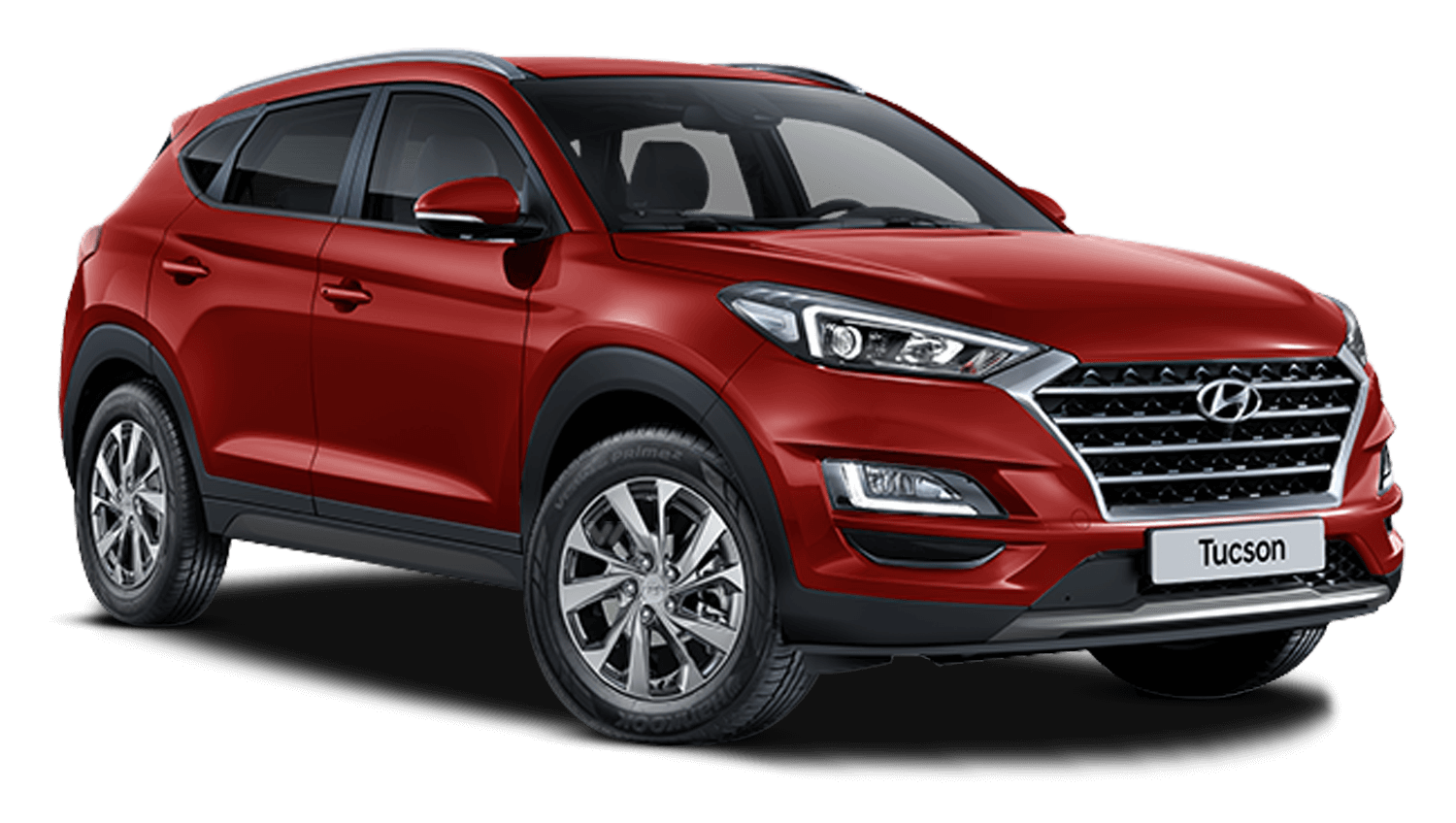 Fiery Red Hyundai Tucson