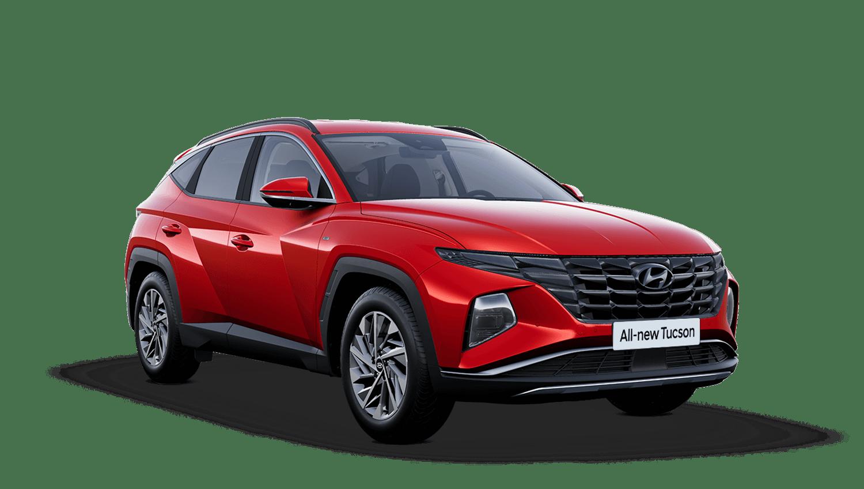 Engine Red All-new Hyundai Tucson