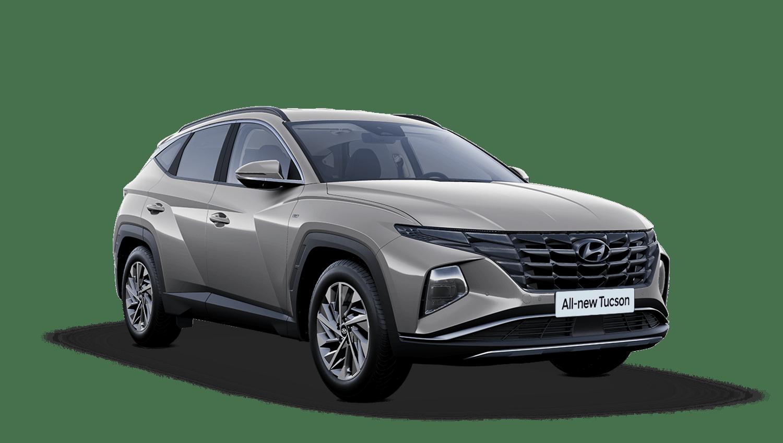 Shimmering Silver All-new Hyundai Tucson