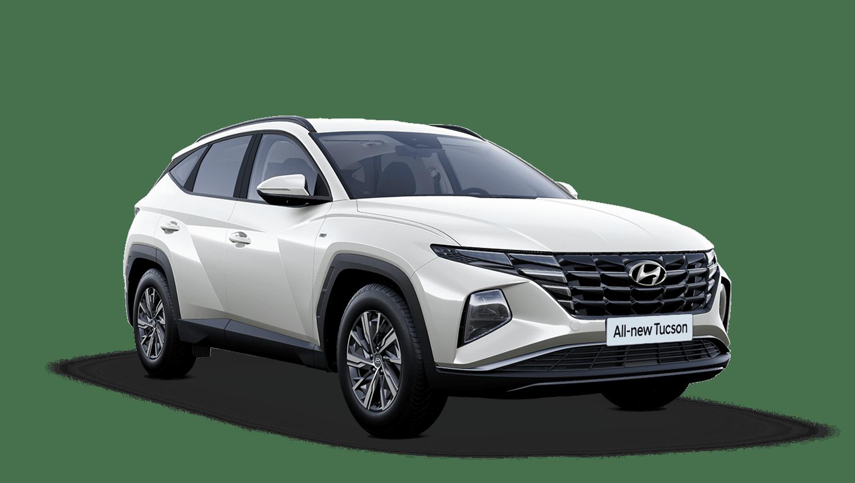 Polar White All-new Hyundai Tucson