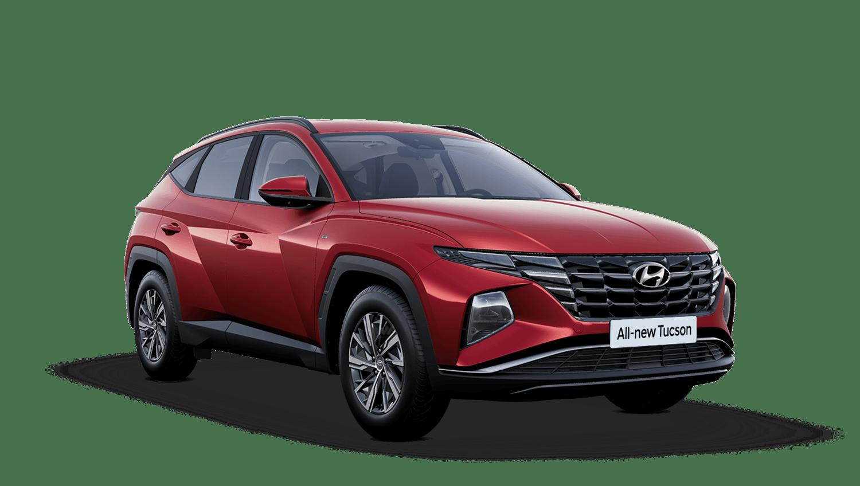Sunset Red All-new Hyundai Tucson