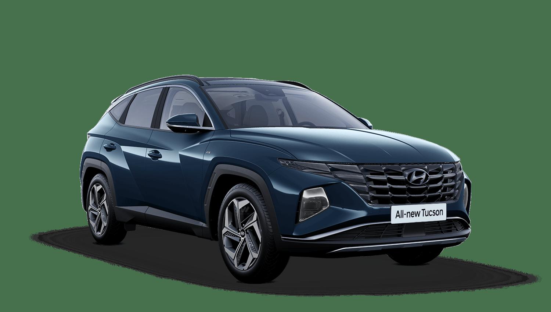 Teal All-new Hyundai Tucson