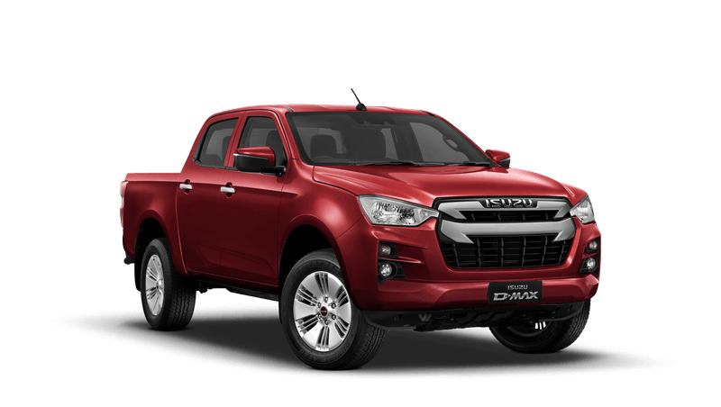 Spinel Red Isuzu D Max DL20