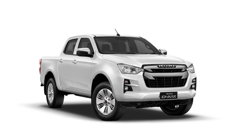 Splash White Isuzu D Max DL20