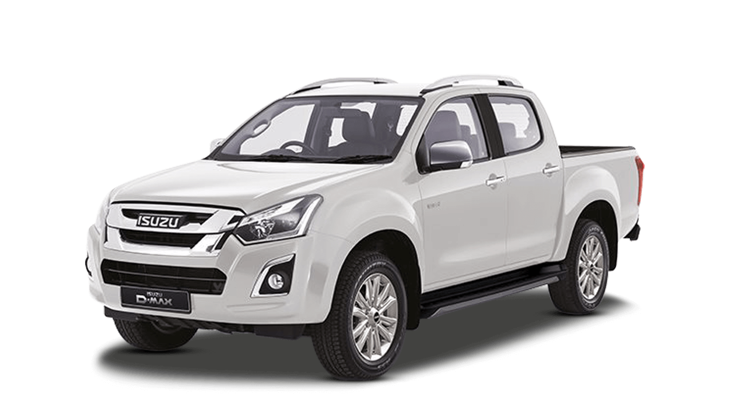 Splash White Isuzu D Max Utah