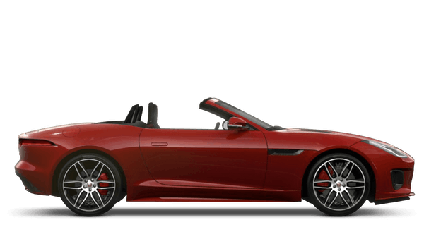 Jaguar F Type Convertible Chequered Flag