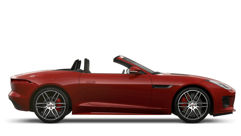 Jaguar F-Type Convertible Chequered Flag