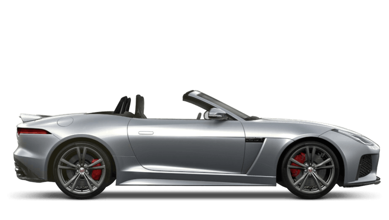Jaguar F-Type Convertible SVR
