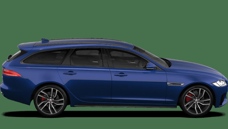 Caesium Blue (Metallic) Jaguar Xf Sportbrake
