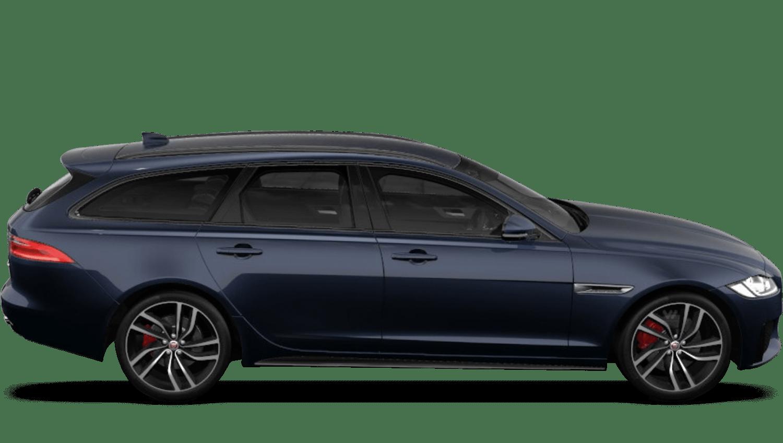 Portofino Blue (Metallic) Jaguar Xf Sportbrake