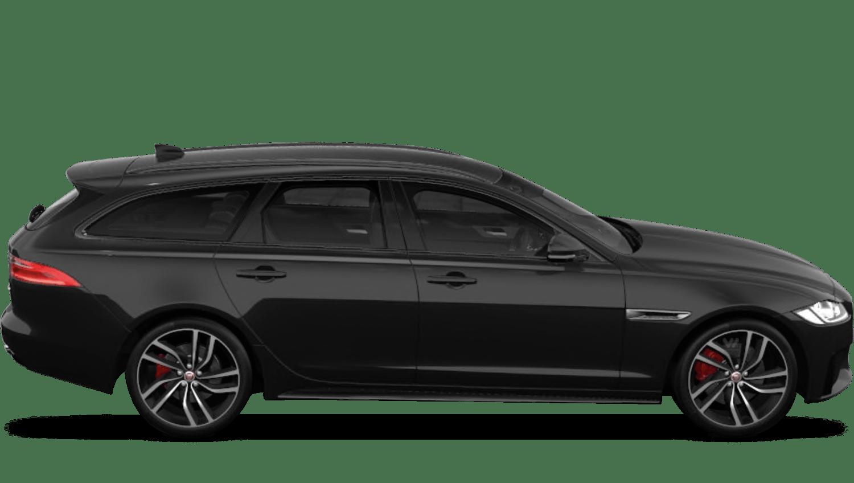 Santorini Black (Metallic) Jaguar Xf Sportbrake