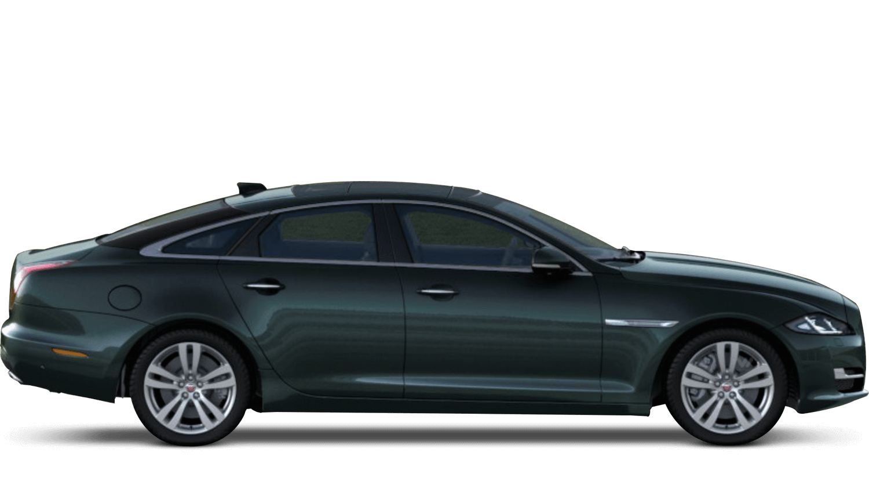 British Racing Green (Metallic) Jaguar Xj