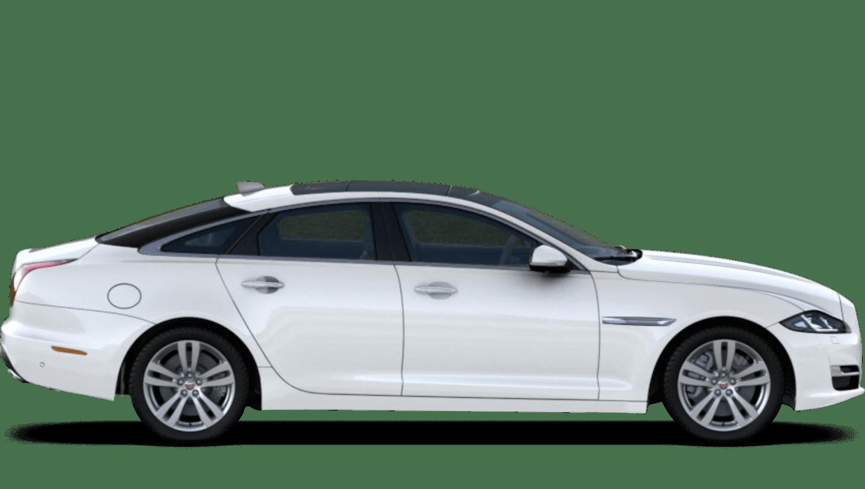 Fuji White (Solid) Jaguar Xj