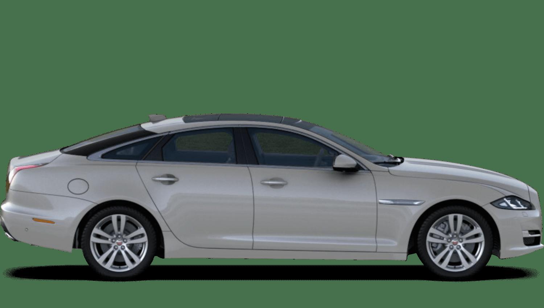 Indus Silver (Metallic) Jaguar Xj