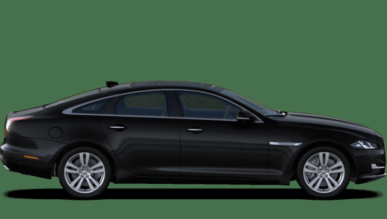 Santorini Black (Metallic) Jaguar Xj