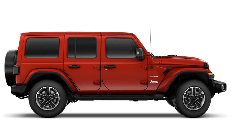 Jeep Wrangler 4 Door Sahara