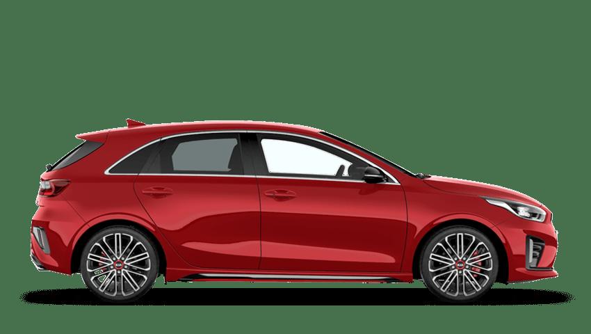 Track Red (Standard) Kia Ceed