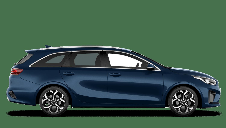 Cosmos Blue Kia Ceed Sportswagon PHEV