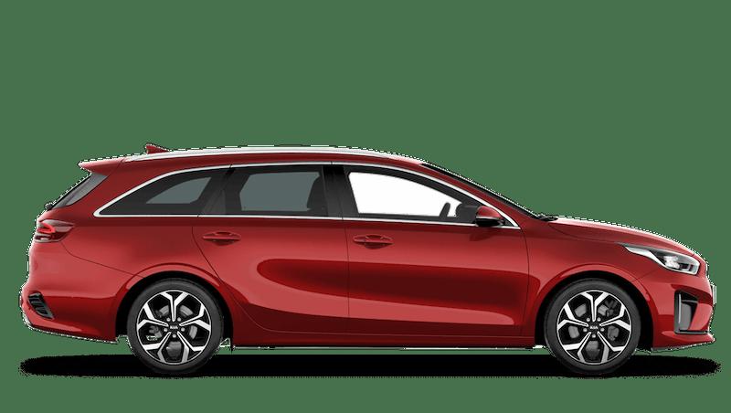 Infra Red Kia Ceed Sportswagon PHEV