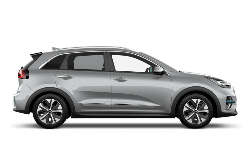 Silky Silver New Kia e-Niro