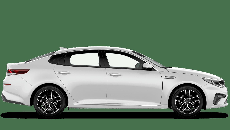 Clear White (Standard) Kia Optima