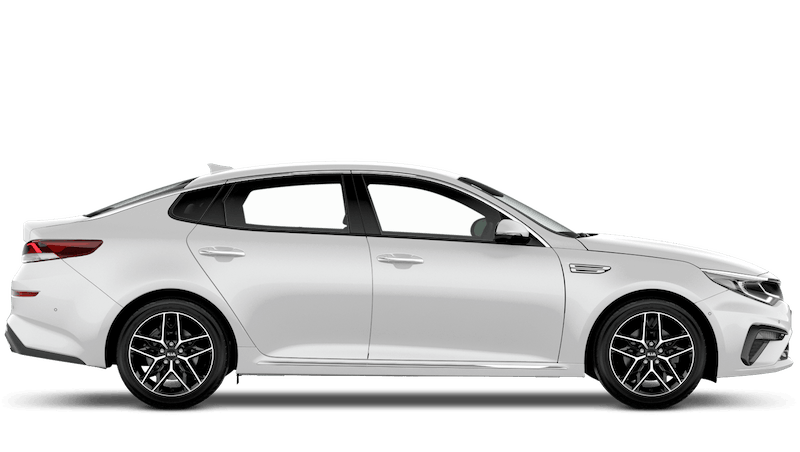 Clear White (Standard) Kia Optima