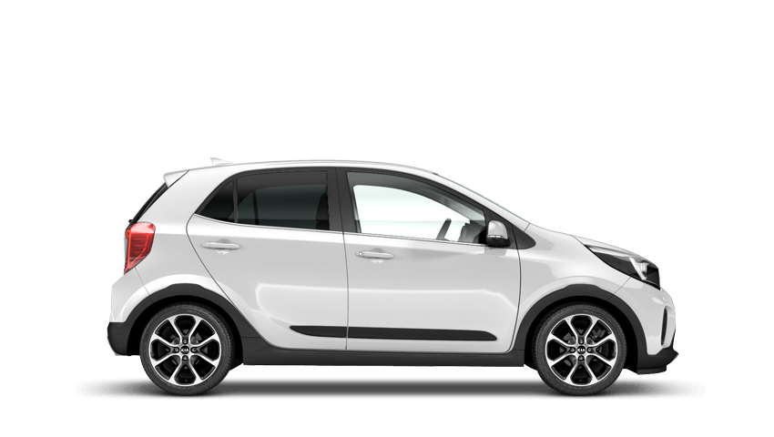 Clear White (Optional) Kia Picanto