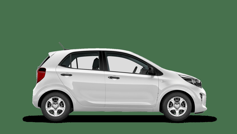 Clear White New Kia Picanto