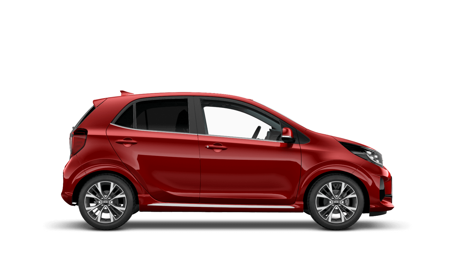 Chilli Red New Kia Picanto