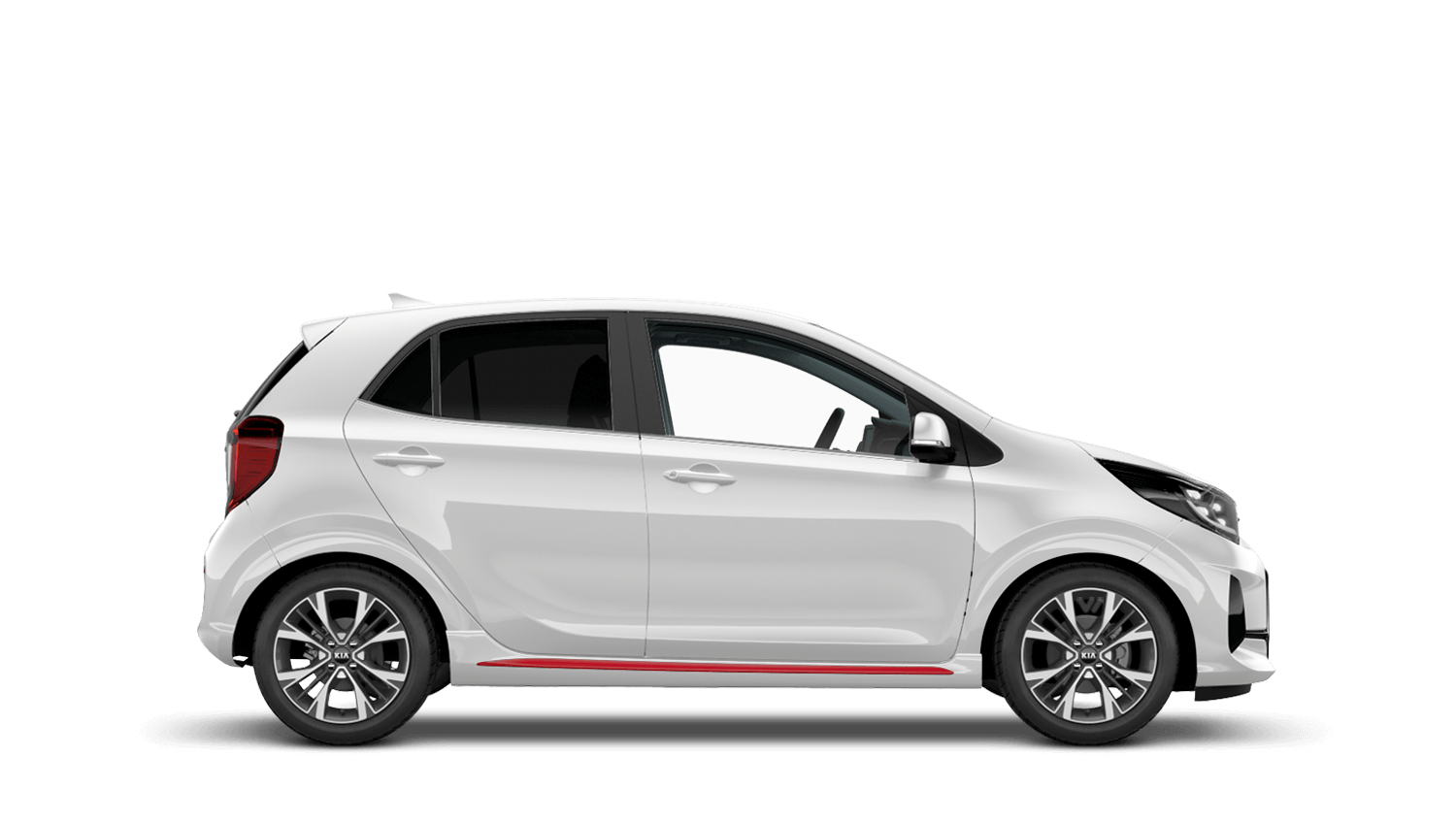 Clear White New Kia Picanto