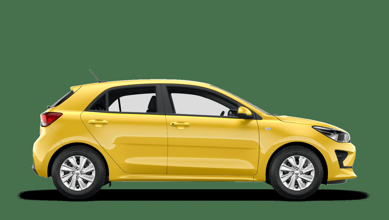 Zest Yellow New Kia Rio