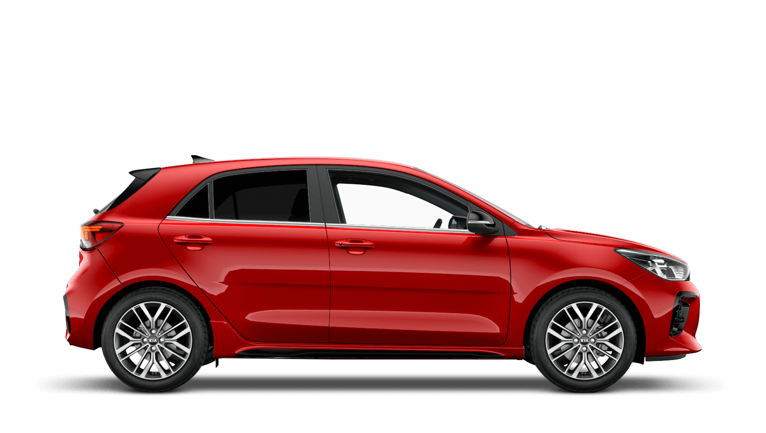 Blaze Red New Kia Rio