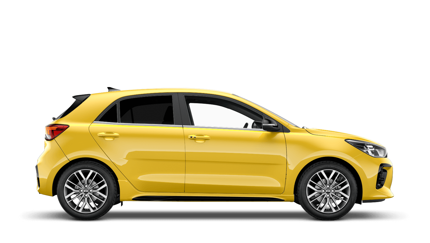 Zest Yellow New Kia Rio