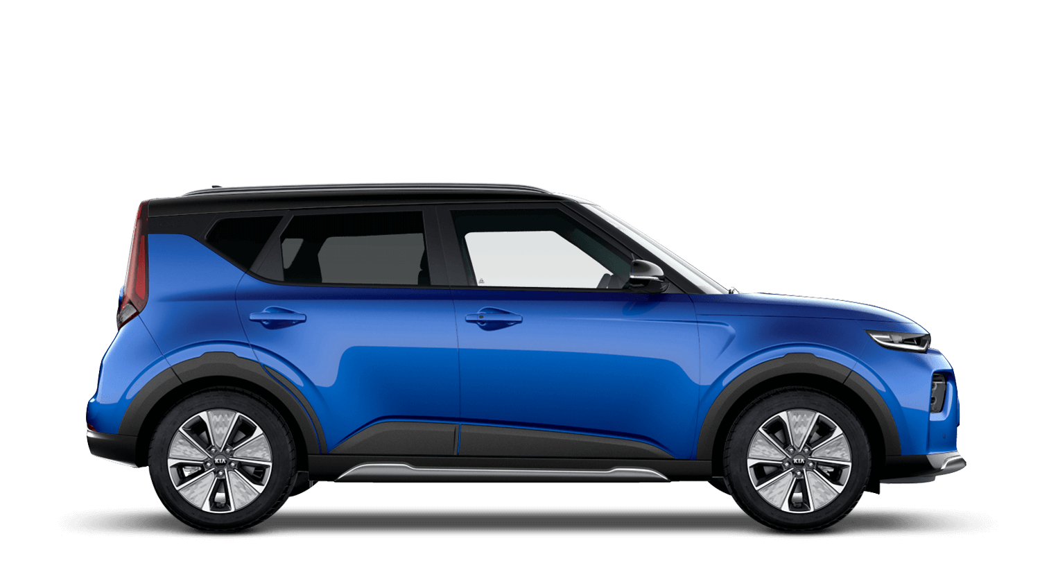 Neptune Blue with Black Roof All-New Kia Soul EV