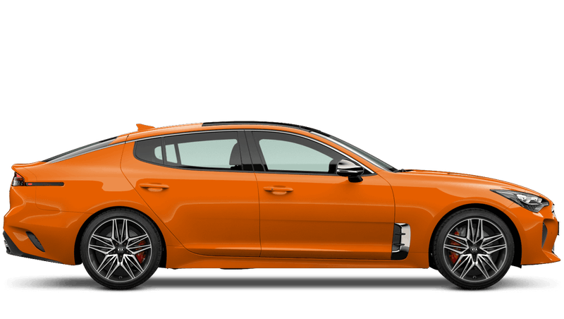 Ember Orange (Standard) Kia Stinger