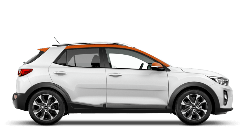 Clear White Orange Roof (Premium) Kia Stonic