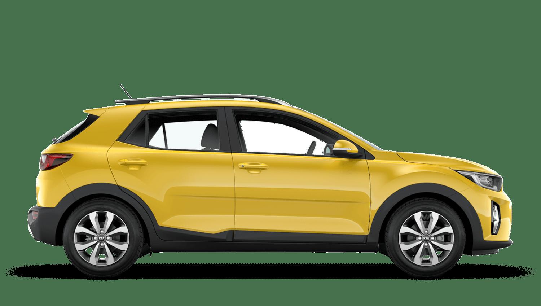 Zest Yellow Kia Stonic