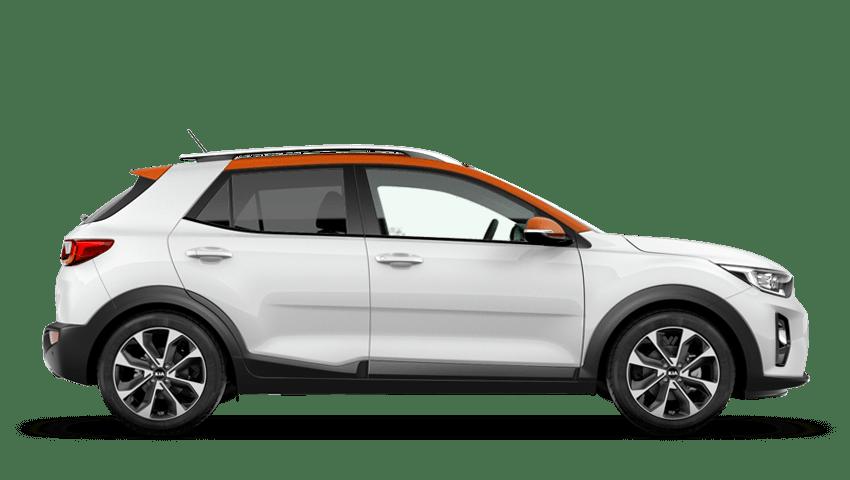 Clear White Orange Roof (Premium)