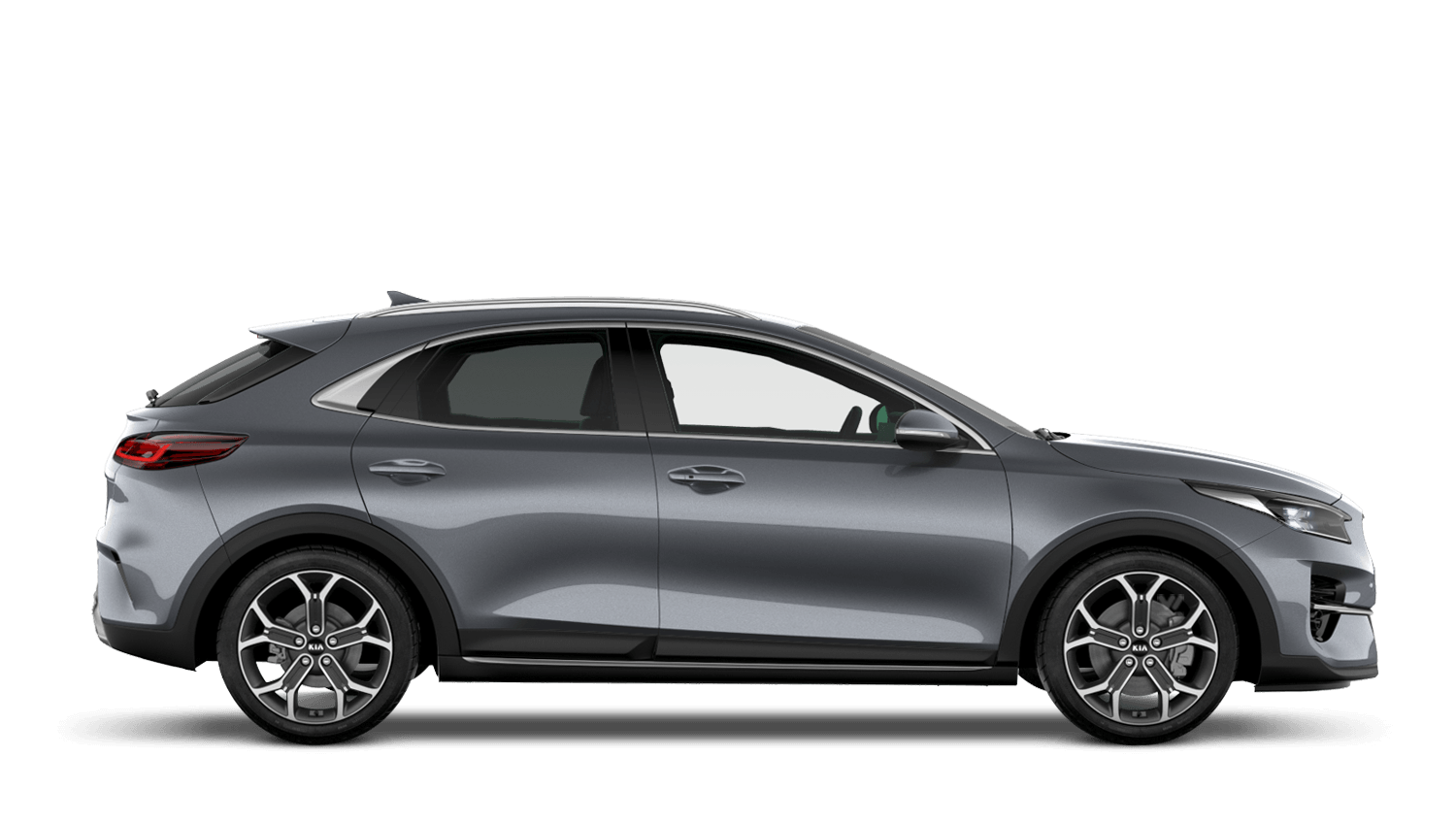 Lunar Silver All-New Kia XCeed