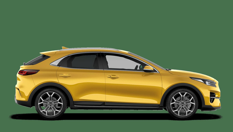 Quantum Yellow Kia XCeed