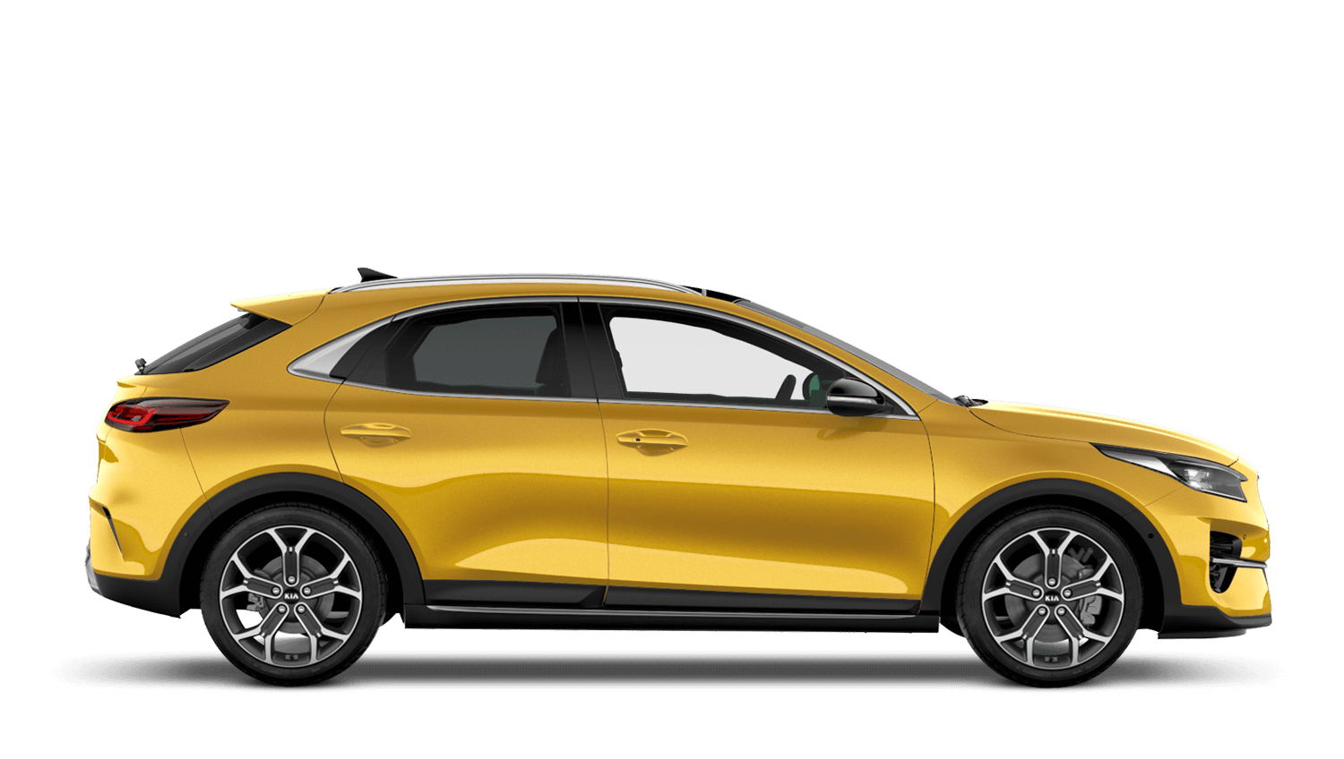 Quantum Yellow All-New Kia XCeed