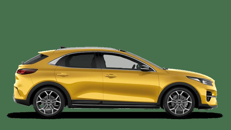 Quantum Yellow Kia XCeed PHEV