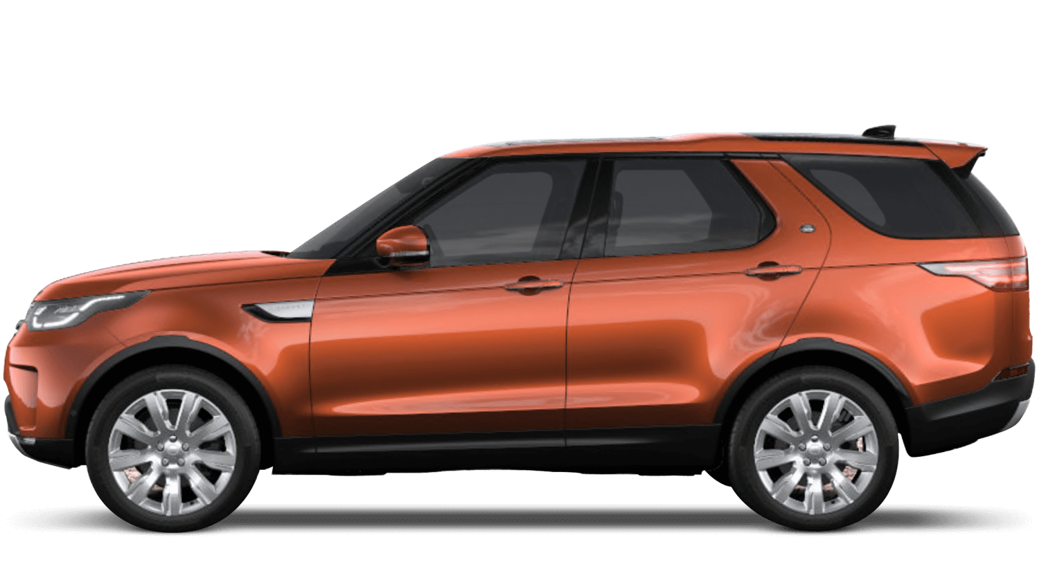 Namib Orange (Premium Metallic) Land Rover Discovery