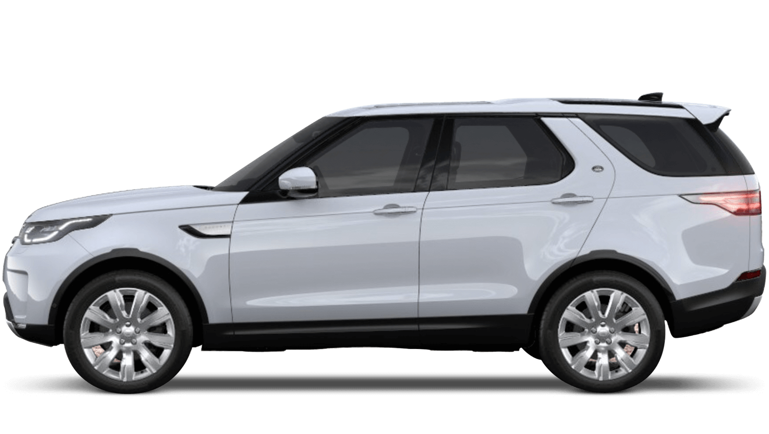 Yulong White (Metallic) Land Rover Discovery