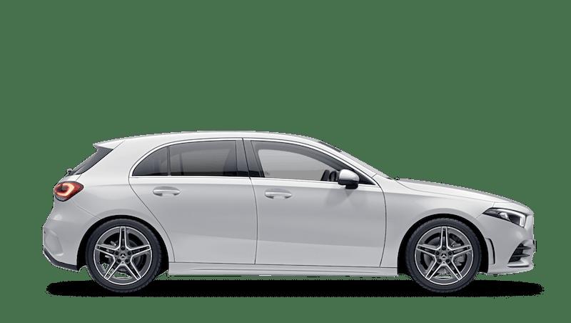 Digital White (Metallic) Mercedes-Benz A-Class