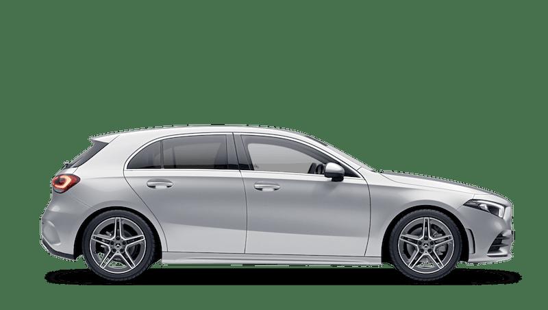 Iridium Silver (Metallic) Mercedes-Benz A-Class