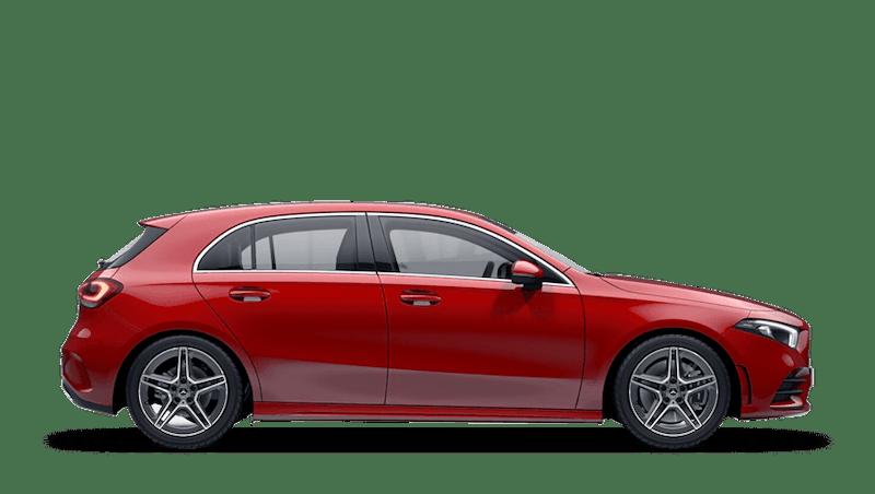 Jupiter Red (Solid) Mercedes-Benz A-Class