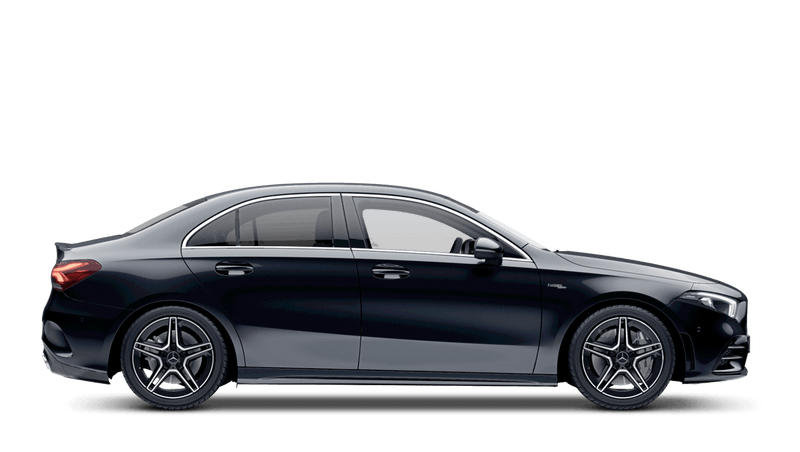 Cosmos Black (Metallic) Mercedes-Benz A Class Saloon